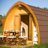 Comfort bungalov, zajednička kupaonica, pogled na vrt (FamilyPod) - Izdvojena fotografija