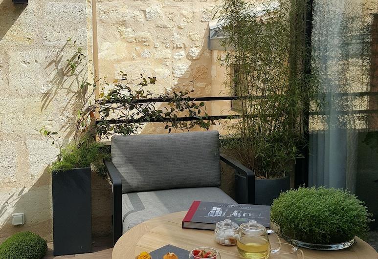 Hôtel Cardinal, Bordeaux, Suite, terrasse (Cardinal), Terrasse/Patio
