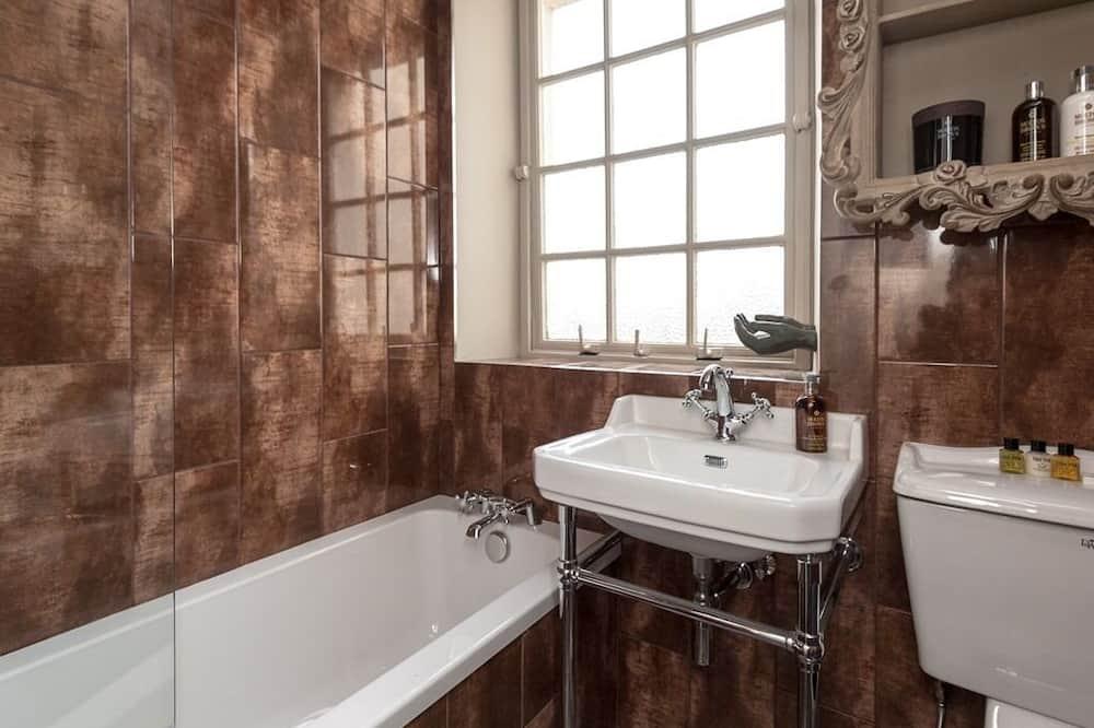 Luxury-Doppelzimmer, eigenes Bad - Badezimmer