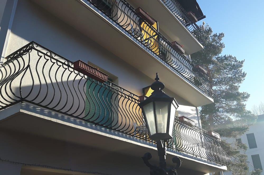 Superior dubbelrum - balkong - utsikt mot bergen - Balkong