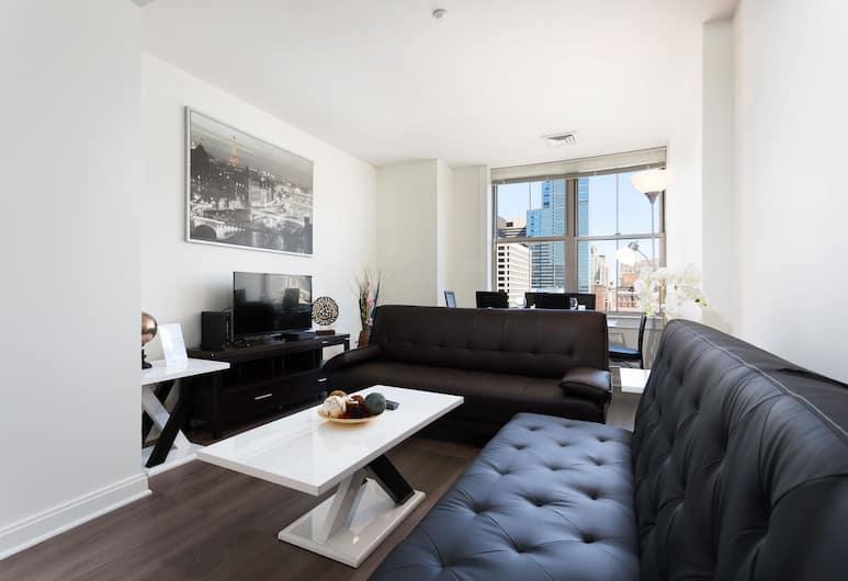 Amazing Atlanta Furnished Apartments, Atlanta, Appartamento Classic, 2 camere da letto, accessibile ai disabili, cucina, Area soggiorno