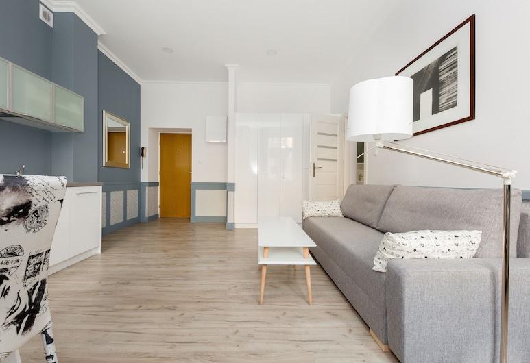 ShortStayPoland Dobra (B45), Βαρσοβία, Standard Διαμέρισμα, Μη Καπνιστών, Περιοχή καθιστικού