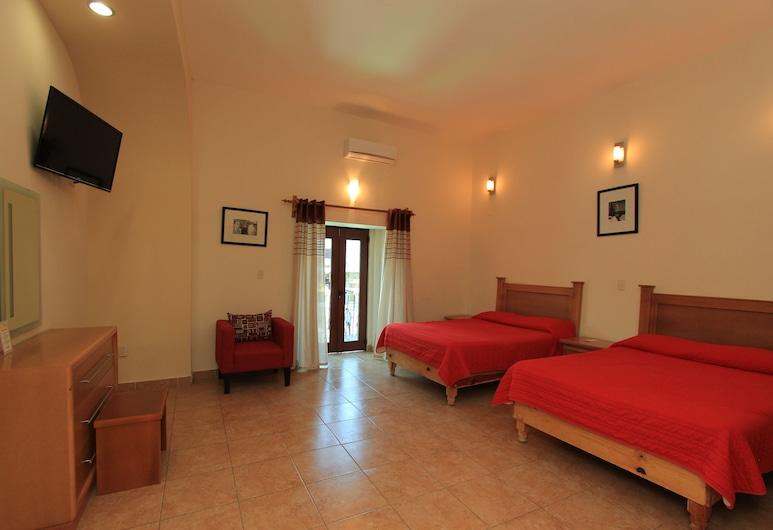 HOTEL SANTA RITA, Guanajuato, Double Room, Balcony, Bilik Tamu
