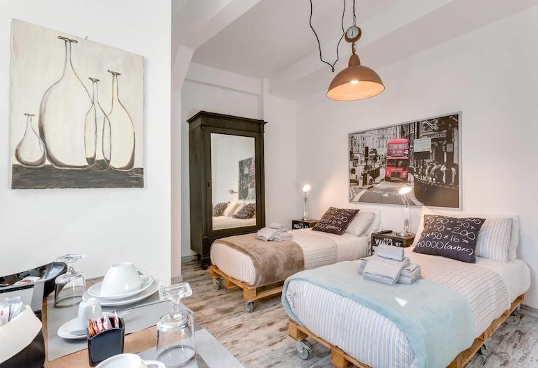 Letto e Latte, Ρώμη, Design Δίκλινο Δωμάτιο (Twin), 2 Μονά Κρεβάτια, Δωμάτιο επισκεπτών
