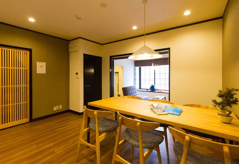 ZEN Kyoto, Kyoto, Коттедж (Private), Зона гостиной