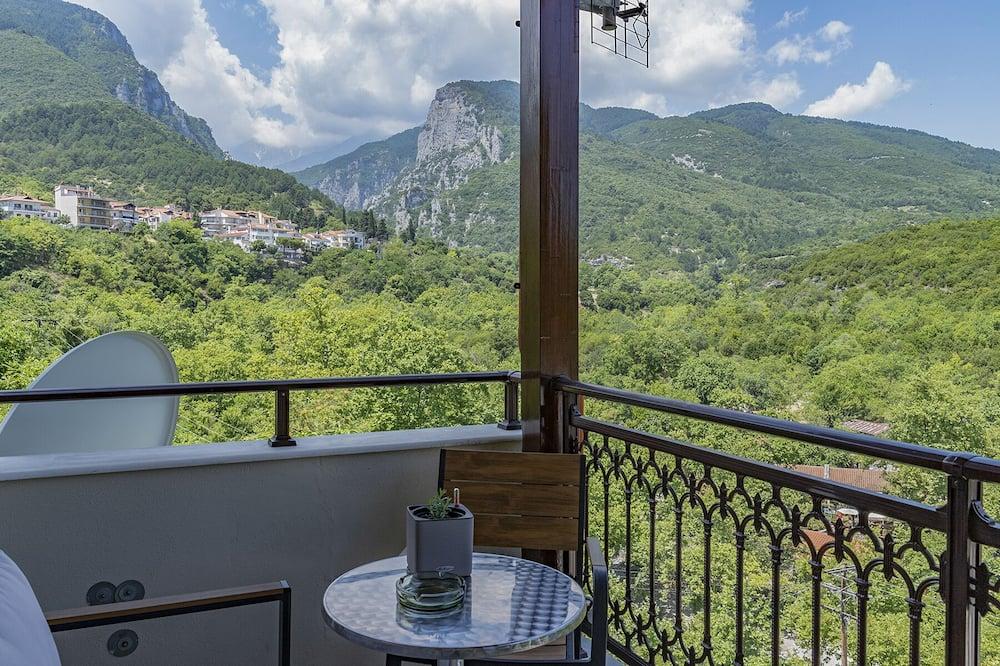 全景雙人房 (Olympus View) - 露台