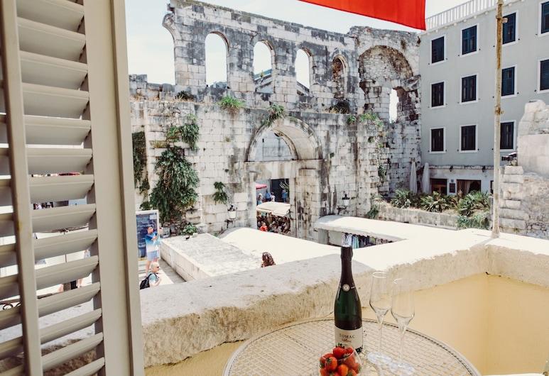 Villa Nepos Hotel, Split, Terrasse/Patio