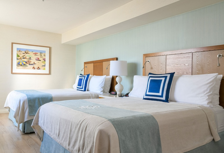 Gateway Hotel Santa Monica, Santa Monica, 2 Queens Accessible Roll-In Shower, Quarto