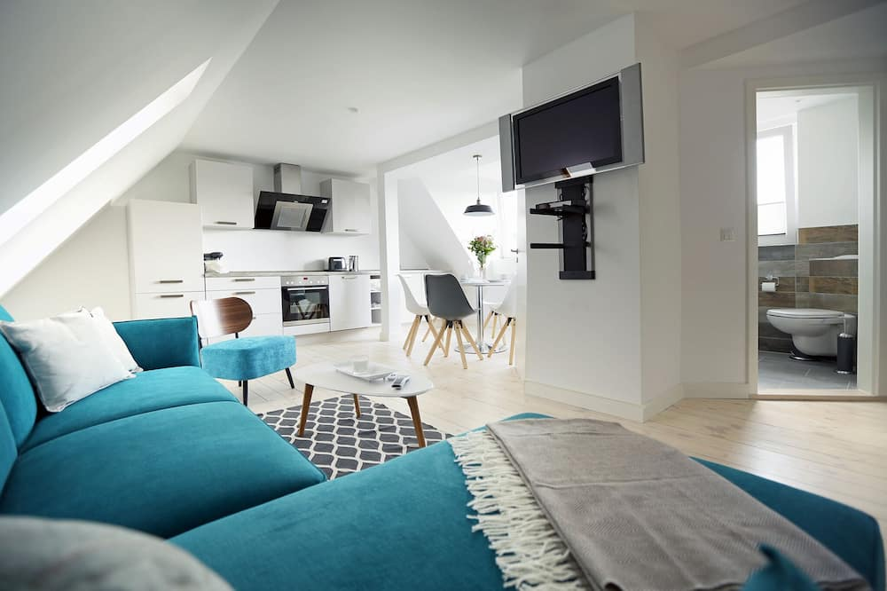 Apartment on Strelasund 150m to the Beach Wi-fi 100mbits