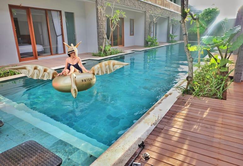 Mahana Boutique Apartment, Denpasar, Kolam Renang Luar Ruangan