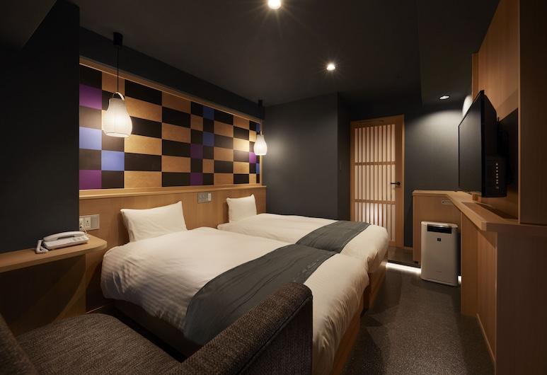 SAKURA SKY HOTEL, Tokyo, Standard Twin Room, 2 Single Beds, Non Smoking, Bathtub, Guest Room