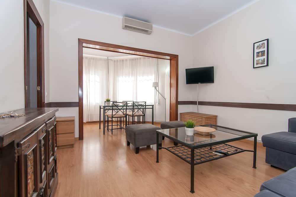 Lägenhet - 4 sovrum - Vardagsrum