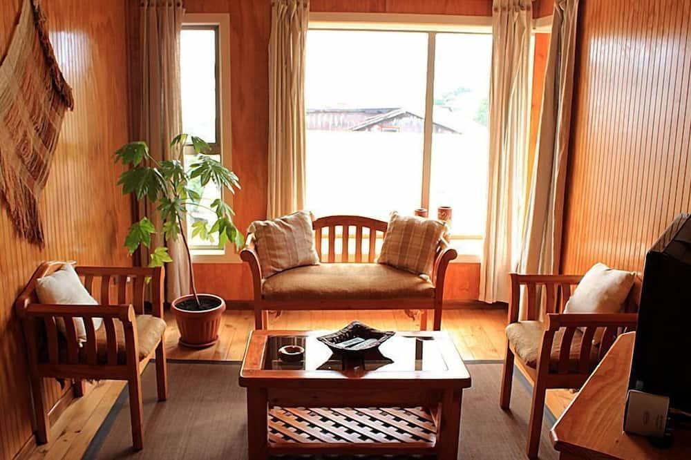 Apartamento estándar, 3 habitaciones - Sala de estar