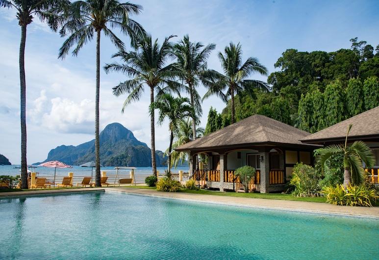 愛妮島花園度假酒店, El Nido, 室外游泳池