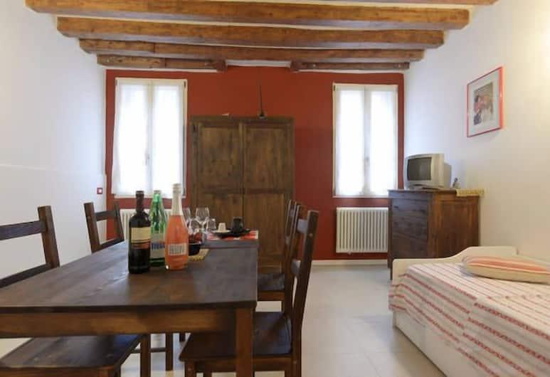 Mario Apartment Biennale, Benátky, Apartmán, 1 ložnice, Obývací prostor