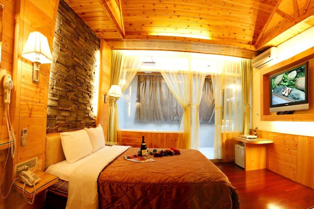 Романтический двухместный номер с 1 двуспальной кроватью - Главное изображение