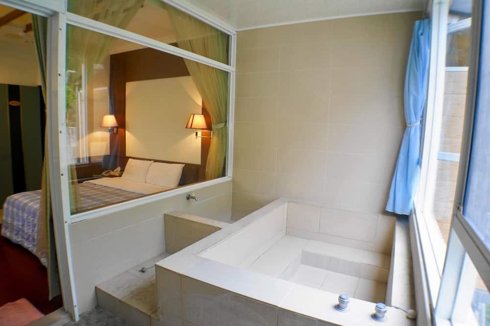 Дизайнерский двухместный номер с 1 двуспальной кроватью - Ванная комната