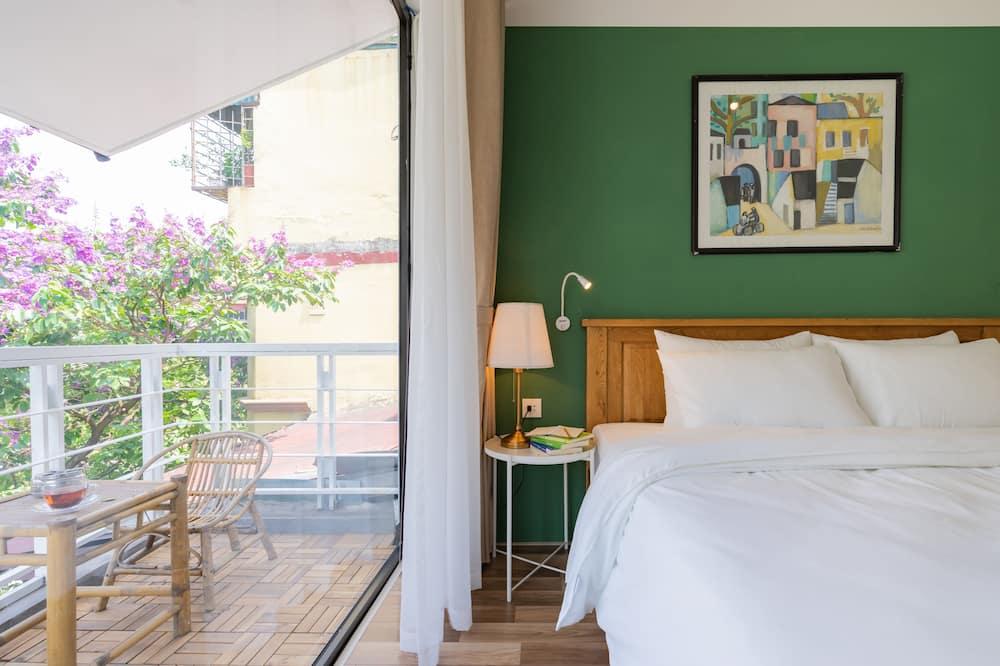 Deluxe-Doppelzimmer, 1King-Bett, Stadtblick - Balkon