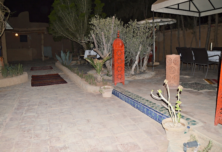 Riad Auberge Taroudant Spa, Ahmar Laglalcha, Terassi/patio