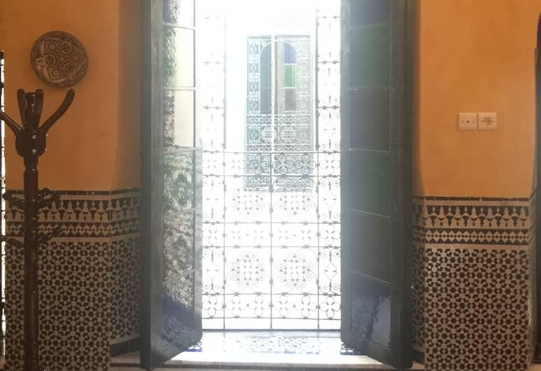 Palais Walid, Fès, Intérieur de l'hôtel