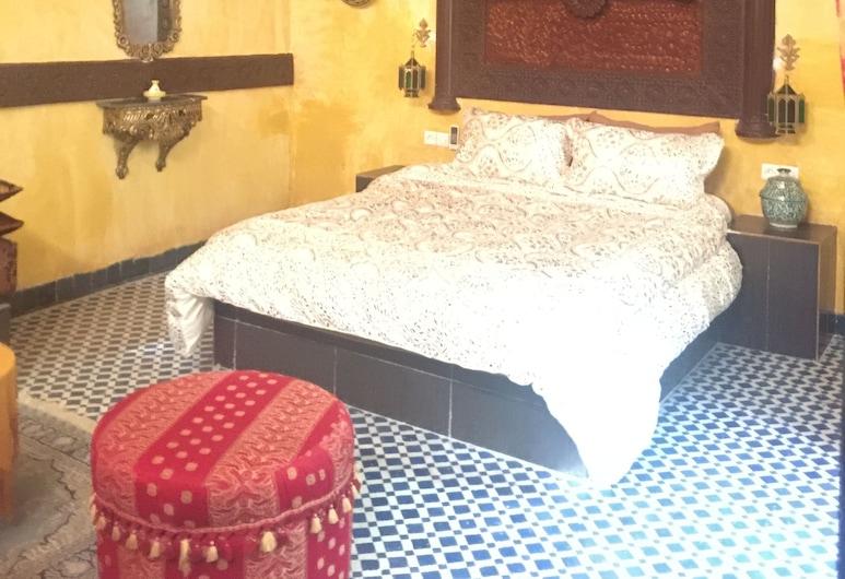 Palais Walid, Fes, Suíte superluxo, Quarto