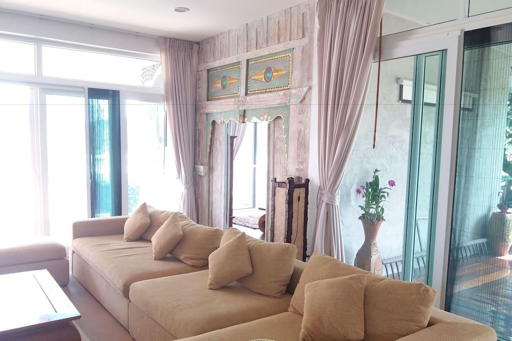 3 Bedrooms Pool Villa  - Dnevni boravak