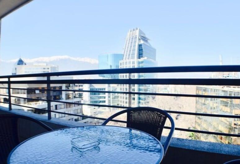 Apartamentos Premium Capital Lyon Costanera, Santiago, Terasa