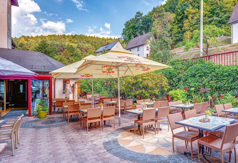 Hotel Christel, Heimbuchenthal, Terrace/Patio