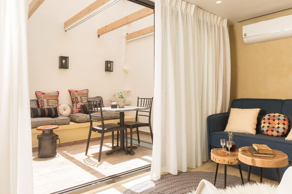 Süit, 2 Yatak Odası, Teras (King Suite) - Oturma Alanı