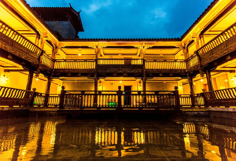 Wangshan Travelling With Hotel, Lijiang, Dış Mekân