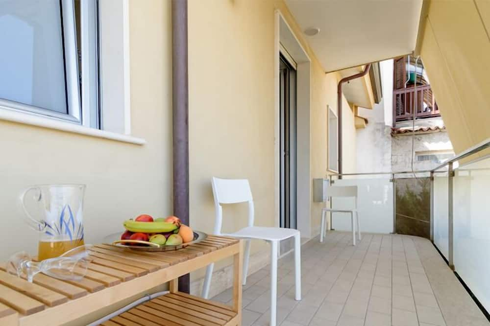 Comfort suite, djelomičan pogled na more - Balkon