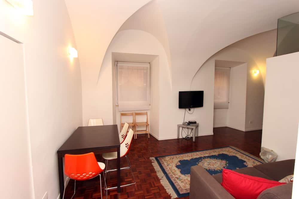 Deluxe Διαμέρισμα, 1 Υπνοδωμάτιο, Θέα στην Πόλη - Περιοχή καθιστικού