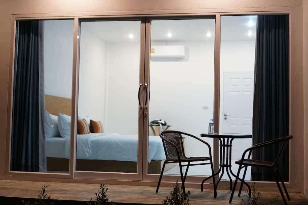 豪華雙人房, 1 張標準雙人床, 花園景觀 - 陽台