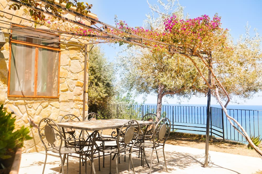 Вілла, 2 спальні, з видом на море - Тераса/внутрішній дворик