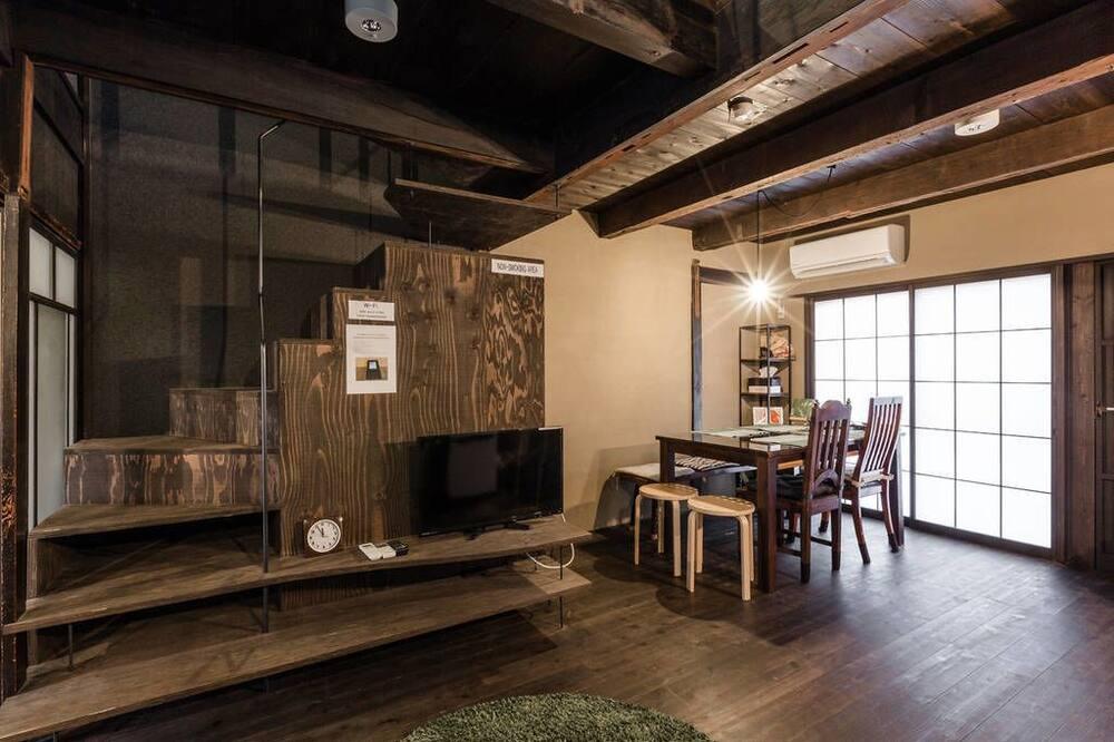 Ferienhaus, 3Schlafzimmer, Nichtraucher (Private Vacation Home) - Wohnzimmer