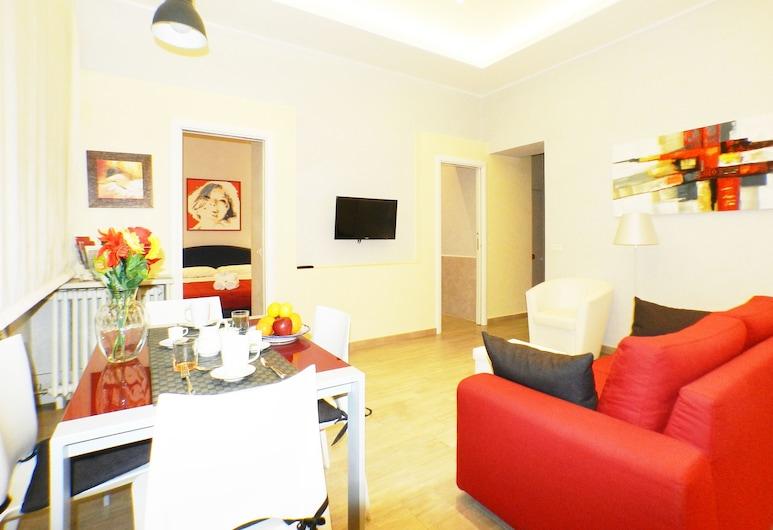 La Casa della Divina, Roma, Appartamento, 1 camera da letto, Area soggiorno