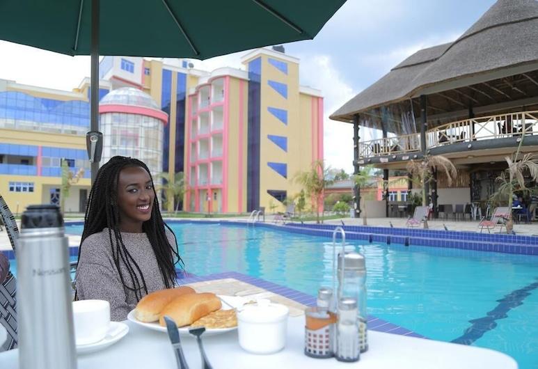 Fatima Hotel, Muhoza, Courtyard