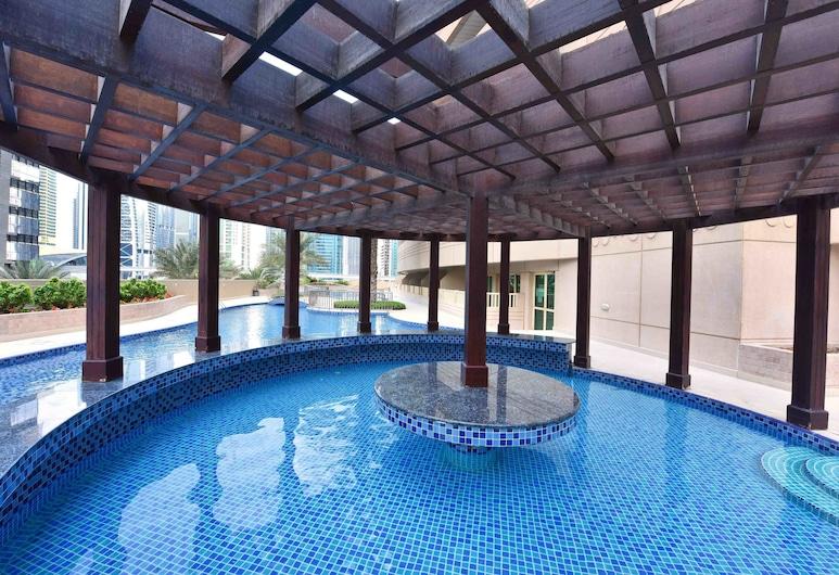 HiGuests Vacation Homes - Dream Tower, Dubajus, Lauko baseinas
