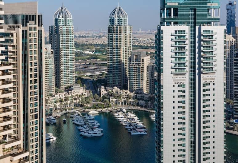 HiGuests Vacation Homes - Botanica, Dubajus, Apartamentai su vitrininiais langais, 1 miegamasis, vaizdas į miestą, vaizdas į jūrą, Vaizdas į miestą