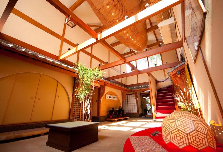 鐵輪別邸卡珀日式旅館, 別府, 走廊