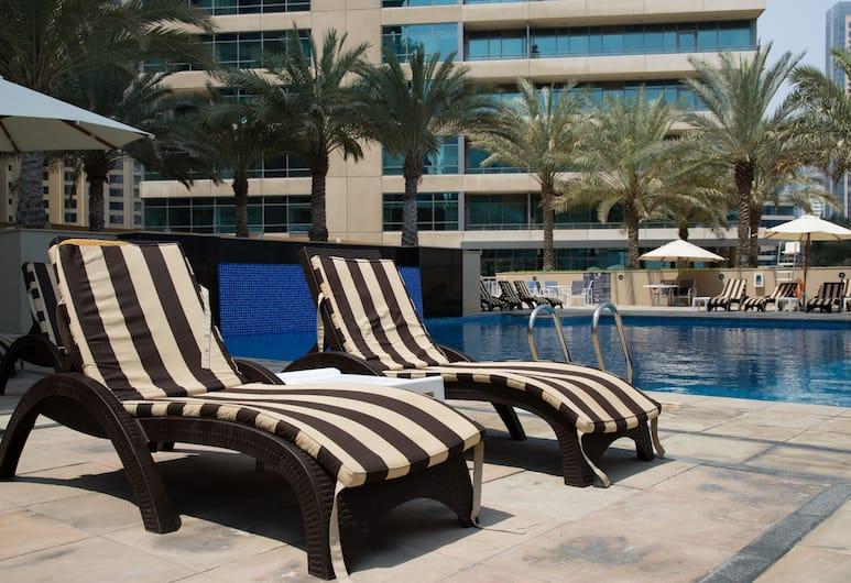HiGuests Vacation Homes - Al Sahab 2, Dubajus, Lauko baseinas