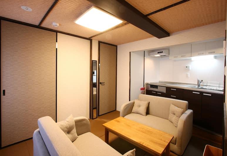 Guest House Karasuma, Kyoto, Living Area