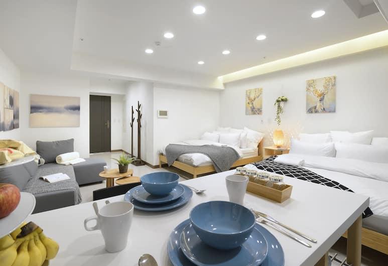 西門芊玉旅舍, 台北市, 豪華雙床房, 客房