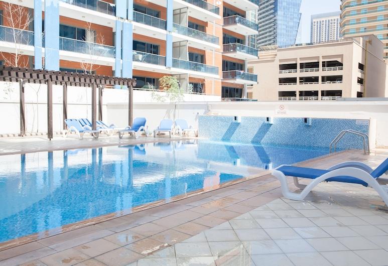 HiGuests Vacation Homes-Marina Residence, Dubajus, Lauko baseinas