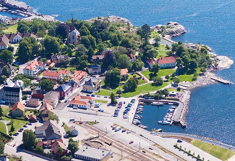 Lysko Gjestegaard, Larvik, Overnattingsstedets eiendom
