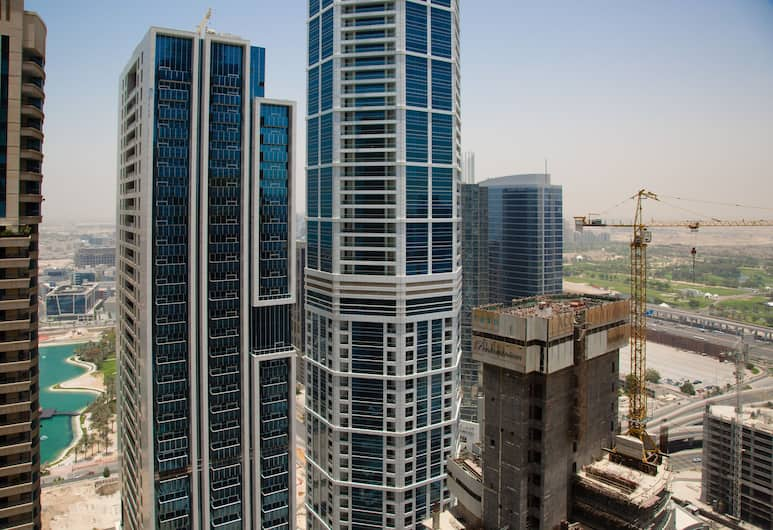 HiGuests Vacation Homes - Sulafa Tower, Dubai, Utsikt från boendet