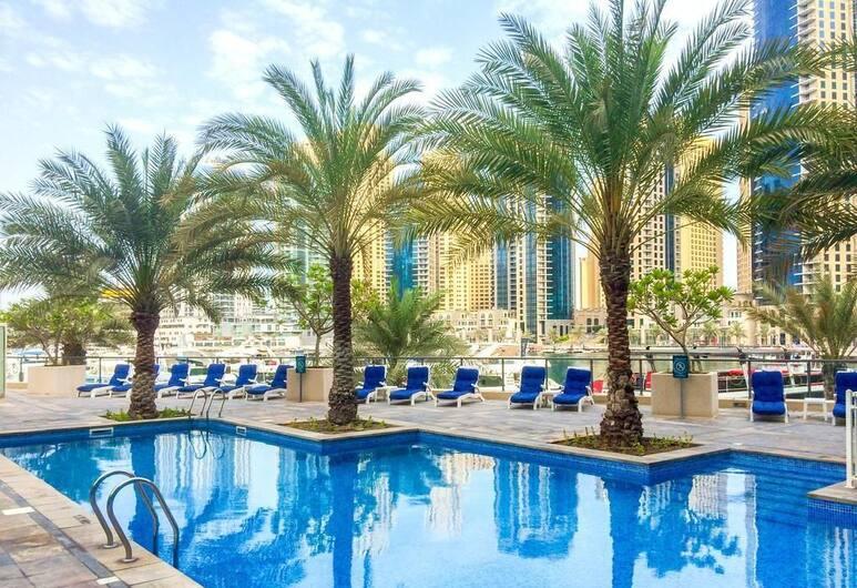 HiGuests Vacation Homes - Al Majara 1, Dubajus, Lauko baseinas
