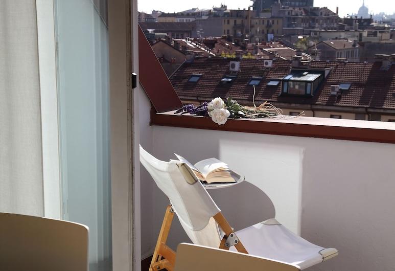 Residence Giusti 6, Milaan, Appartement, 2 slaapkamers, Balkon