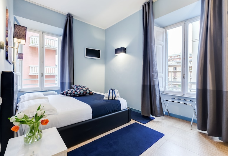 Easy budget Colosseo, Rome, Classic Double Room, 1 Bedroom, Private Bathroom, City View, Guest Room