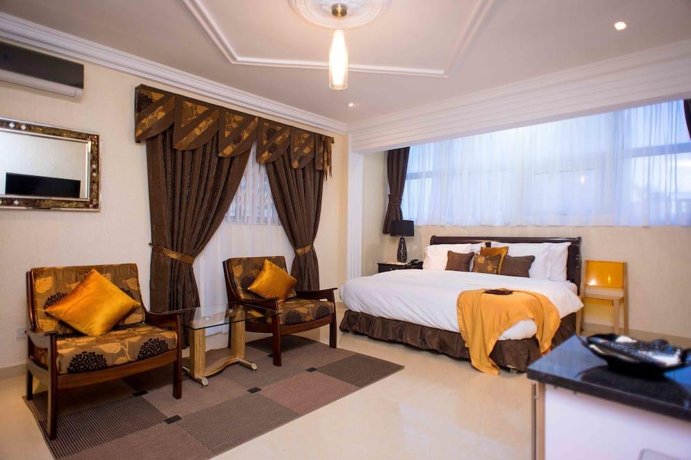 Dvojlôžková izba typu Deluxe, 1 veľké dvojlôžko, kuchynka - Hosťovská izba